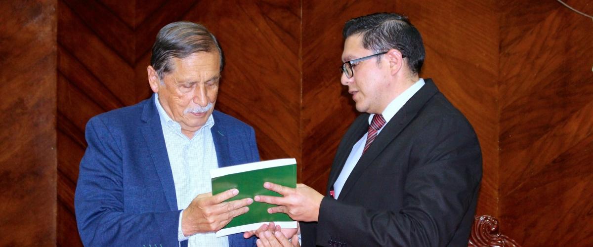 UTPL entrega propuesta de Sistema Verde Urbano Loja