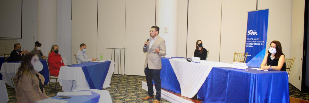 Reconocidas empresas y gremios de la localidad fueron parte de conversatorio sobre reactivación económica empresarial.