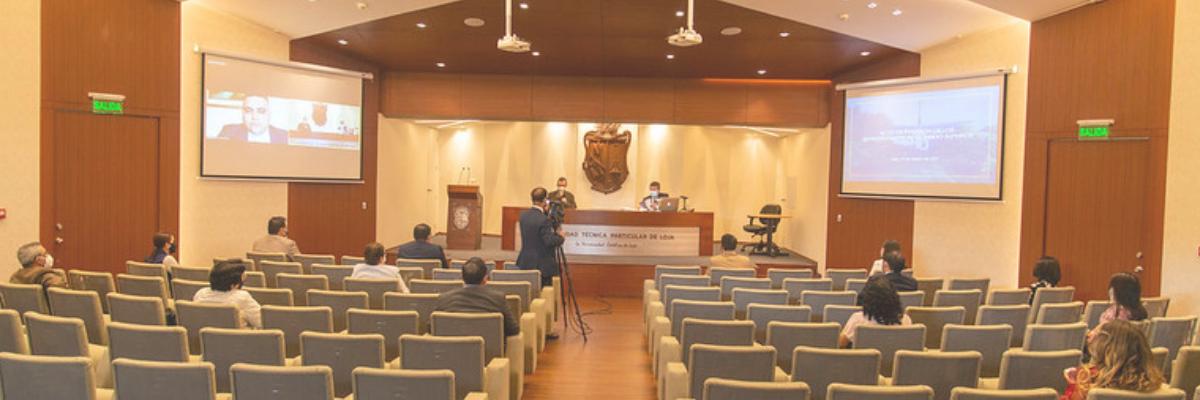 UTPL posesionó a los representantes del Cogobierno al Consejo Superior 2021