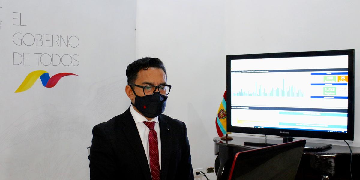 Sitio web permite monitorear en tiempo real datos del COVID-19 en Loja