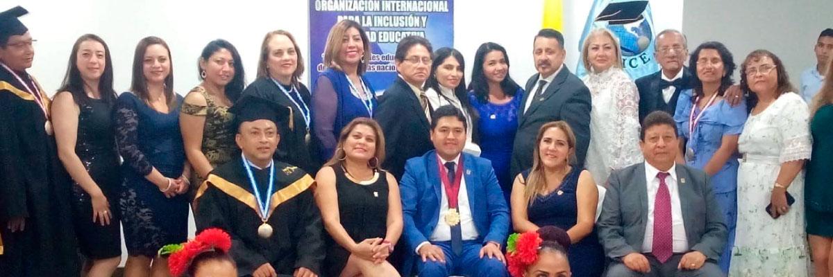 Docentes UTPL obtienen el máximo reconocimiento internacional que se otorga a los profesionales de América Latina y el Caribe
