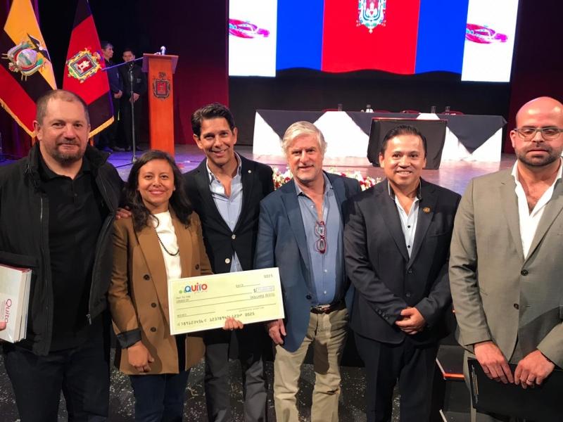 3 finalistas para proyecto corredor metropolitano de Quito