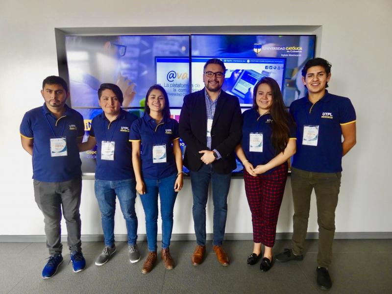 Estudiantes UTPL viajan en representación de Ecuador al programa de paz