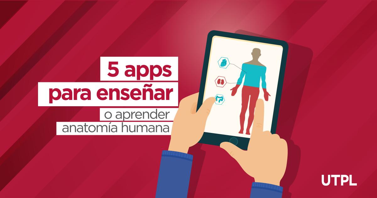 6 apps para enseñar o aprender anatomía humana | Blog