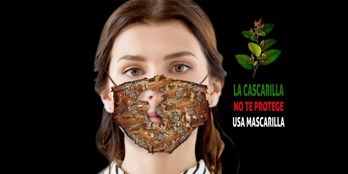 """Campaña promueve el uso correcto de la """"Cascarilla"""""""