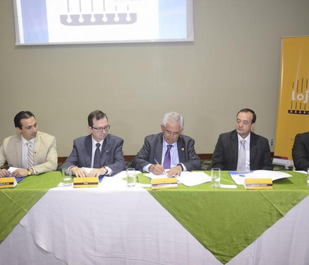 """Firma del proyecto: """"Loja Ciudad Creativa de la Música"""""""