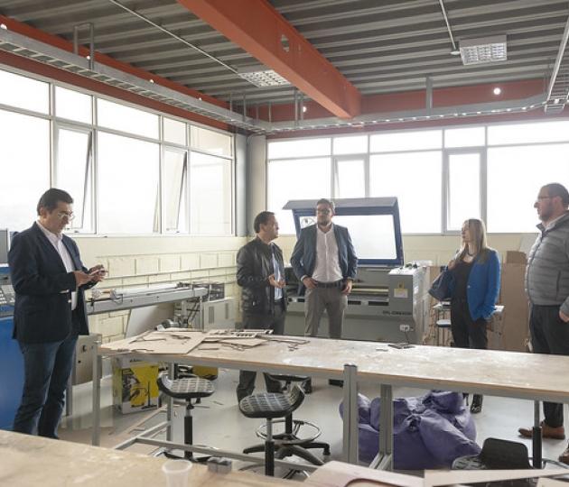 Visita de la Fundación Universitaria del Área Andina