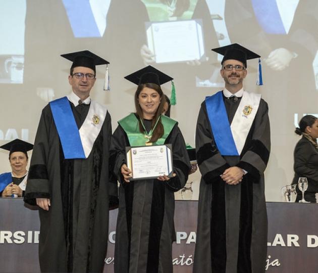 Acto Solemne de Inauguración del Año Académico 2019 - 2020 e Incorporación de nuevos doctores al Claustro UTPL