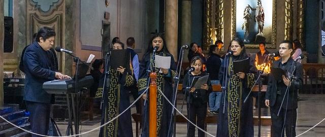 Misa Institucional en honor a la Virgen de El Cisne