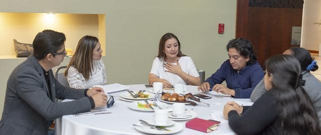 """Desayuno de trabajo """"Desafíos de la Planificación y el Ordenamiento Territorial"""""""