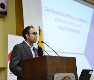 """Conferencia: """"Funcionamiento de la Bolsa de Valores de Quito"""""""
