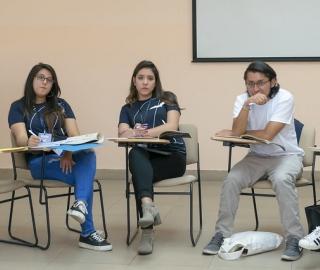 Encuentro Nacional del Parlamento Universal de la Juventud