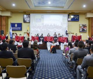 Inauguración del evento - UTPLMUN