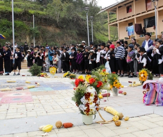 Inauguración del Laboratorio de Lenguas Vivas Quichua - Español