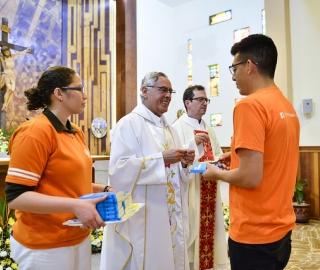 Misa de Acción de Gracias por la visita de la sagrada imagen de la Virgen del Cisne