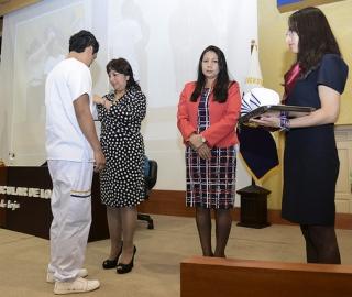 Ceremonia de Imposición de Cofias