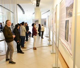 """Exposición: """"Patrimonio Rupestre y Creación Artística"""""""