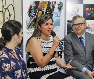 """Rueda de prensa para la socialización del proyecto """"Turismo Comunitario"""""""