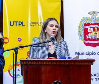 """Presentación del primer boletín estadístico """"Indicadores de Alojamiento Loja, junio 2019"""""""