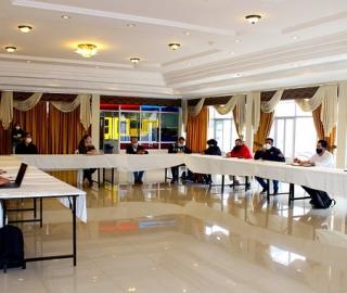 Visita de seguimiento técnico al proyecto de fortalecimiento de movilidad humana