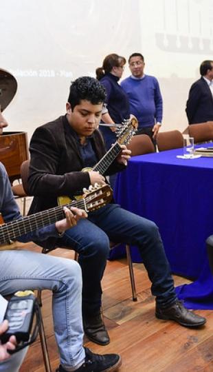 """Rueda de prensa: """"Loja camino a ciudad creativa de la música"""""""