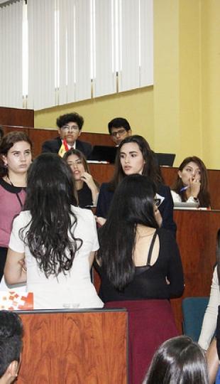Sesiones de debate - UTPLMUN