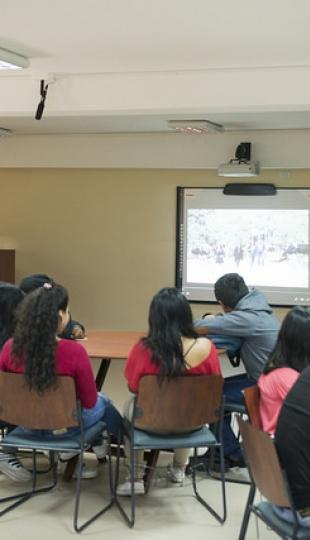 Clausura de talleres académicos de vinculación con la sociedad.