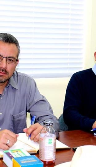 Directivos de la Universidad Católica de Cuenca visitan la UTPL