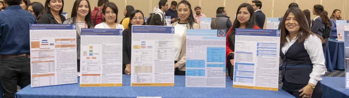 Estudiantes de la maestría en computación de la UTPL