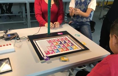 proyecto axes ayuda a niños con discapacidad visual