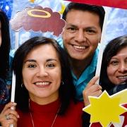 Comunidad universitaria vive la Navidad UTPL 2016
