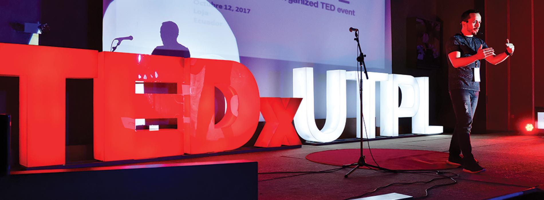 ideas de profesionales que aprendimos en TEDx UTPL