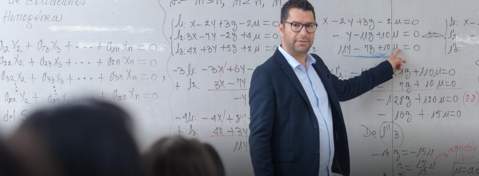 Maestría en enseñanza de las matemáticas UTPL