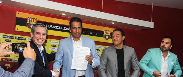 Universidad Técnica Particular de Loja firmó convenio con Barcelona SC