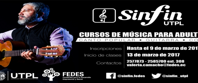 SINFIN inicia cursos 2017