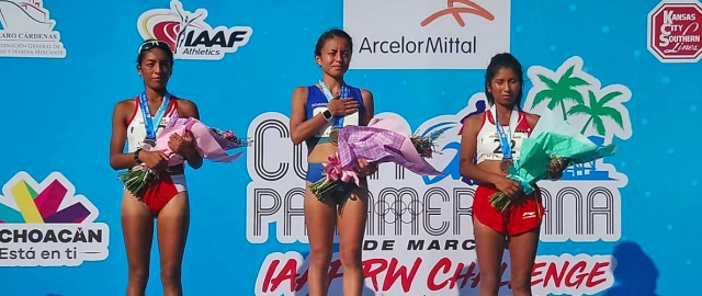 Glenda Morejón, estudiante UTPL de Modalidad Abierta y a Distancia, gana medalla de oro en Copa Panamericana en México