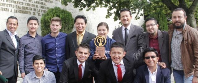 Reconocimiento a HandEyes por parte del Municipio de Loja