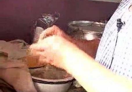 Tortillas con morocho de Gualaceo