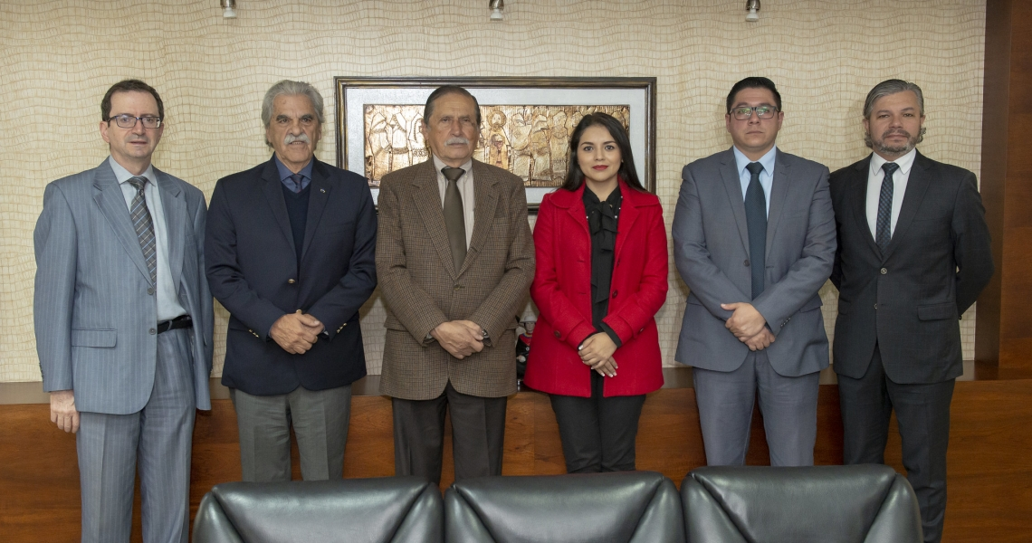 Ministro de cultura visita la UTPL